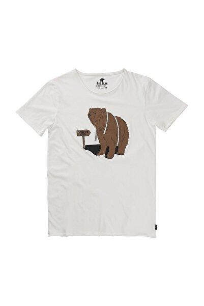Bad Bear Beyaz Erkek Tişört TAILOR TEE OFF-WHITE