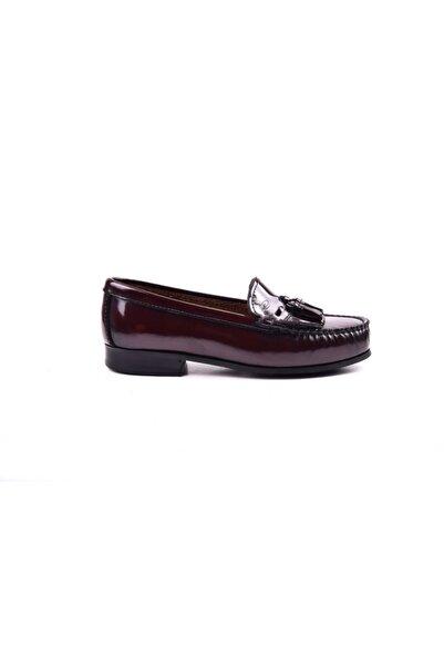 Dexter Kadın Bordo Julia  Loafer Ayakkabı R422-4