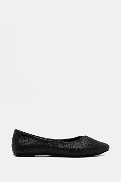 Koton Kadın Siyah Ayakkabı 9KAK22000AA