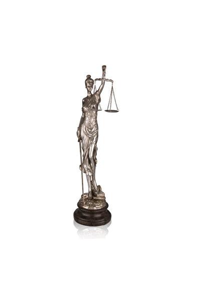 Porio Gümüş Adalet Terazisi 53 Cm