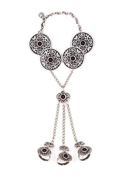 Zuk Collection Kadın Antik Gümüş Kaplama Şahmeran 150002