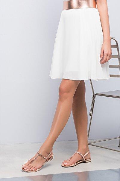 İnci Hakiki Deri Pembe Kadın Sandalet 120120212082