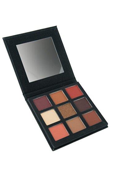 Cocosh She 9'lu Göz Farı Paleti - Exciting Autumn Eyeshadow Palette 8681569722453
