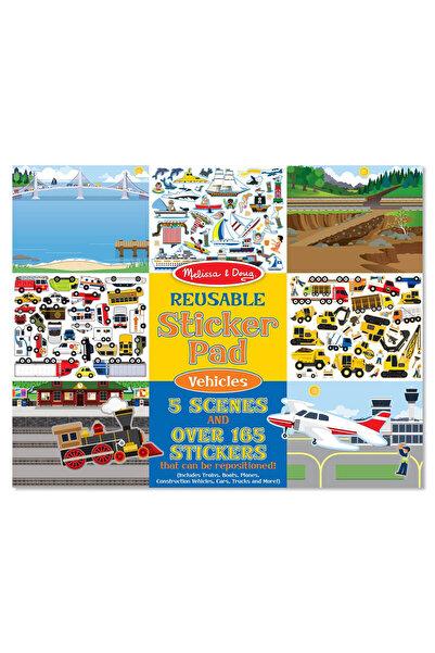 Melissa & Doug Melissa&Doug Tak Çıkar Çıkartma Kitabı - Araçlar /
