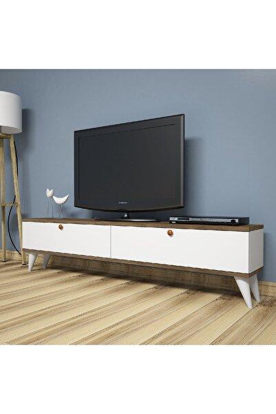 Puzzle Design Puzzle Desıgn Paris Beyaz Ceviz Tv Ünitesi