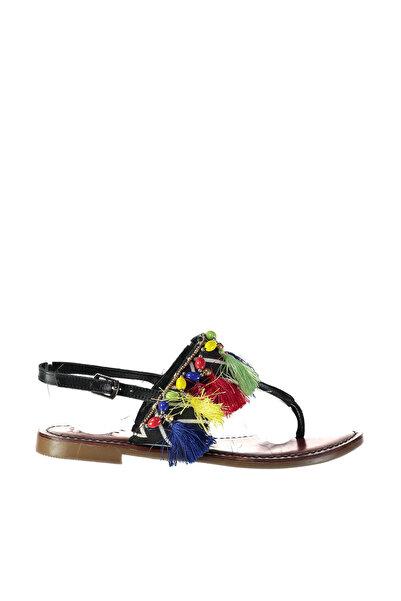 İnci Siyah Kadın Sandalet 120130008162