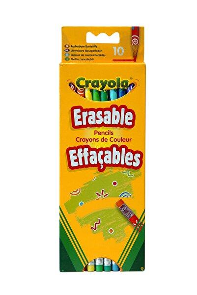 Crayola 10 Silinebilir Kuru Boya Kalemi /