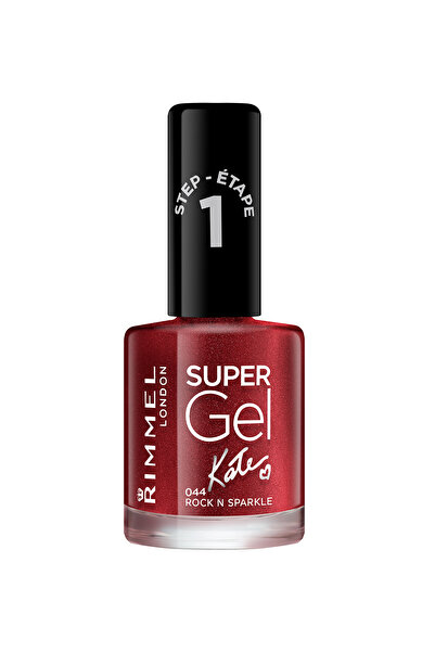 RIMMEL LONDON Oje - Super Gel Kate 044 Rock N Sparkle 12 ml 30121607