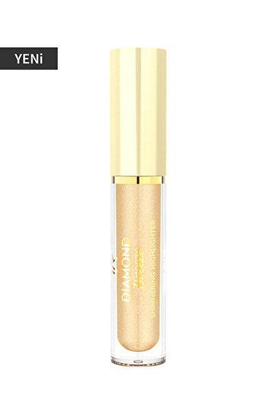 Golden Rose Aydınlatıcı - Diamond Breeze Highlighter 01 Gold Flash 8691190965655