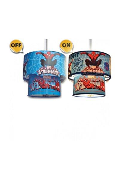 DISNEY LİSANSLI SPIDERMAN 3D SİHİRLİ TAVAN SARKIT AYD-727