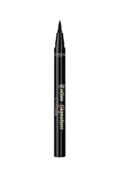 L'Oreal Paris Ekstra Siyah Likit Eyeliner - Superliner Tattoo Signature Liner 3600523530830