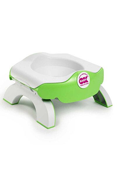 OK Baby Roady Katlanabilir Klozet Adaptörü Ve Oturak Yeşil