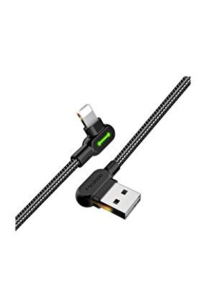 CA-4673 Apple iPhone Uyumlu Data ve Şarj Kablosu 1.8 metre Siyah