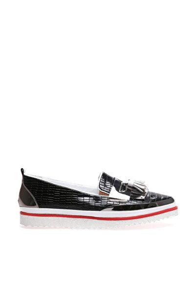 WOMENJ Siyah Kadın Ayakkabı W1723016