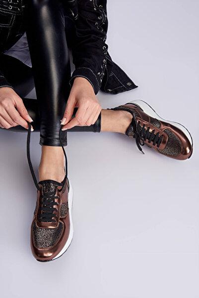 İnci Altın Kadın Sneaker 120130009022