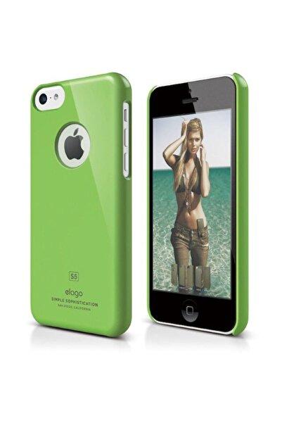 Elago Slim Fit Yeşil iPhone 5C Kılıf