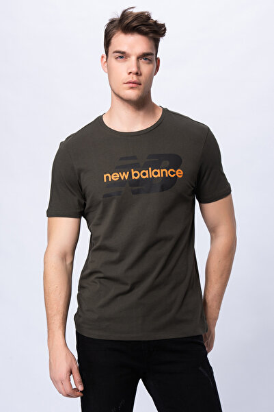 New Balance Erkek T-shirt - Font Logo TEE - V-MTT910-TPG