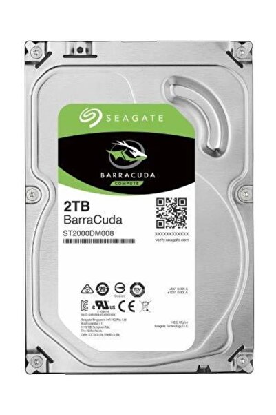 Seagate Barracuda ST2000DM008 2TB 7200RPM 256 MB Sabit Disk