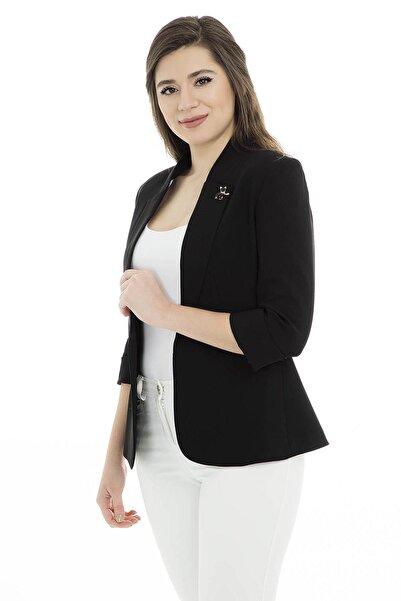 AYHAN Kadın Siyah Ceket - 04690179