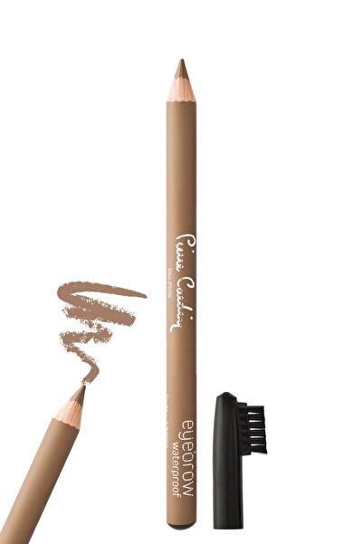 Pierre Cardin Suya Dayanıklı Şekillendirici Kaş Kalemi - Eyebrow Pencil Açık Kahve 8680570258135