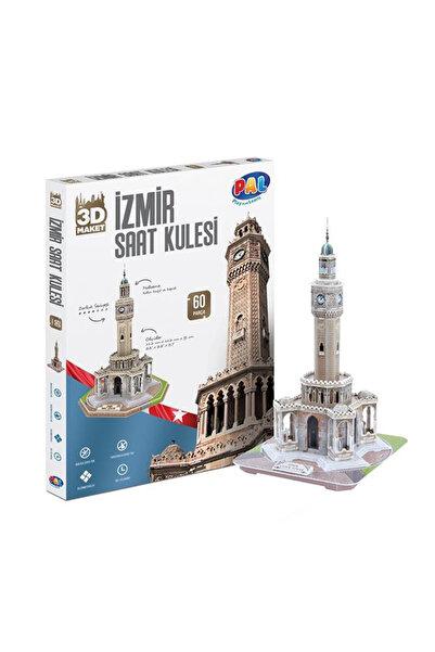 Pal İzmir Saat Kulesi 3D Puzzle /