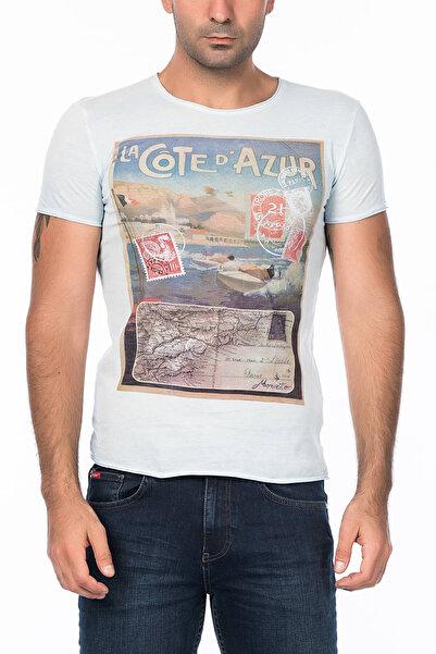 Antony Morato Erkek Beyaz T-Shirt KS003551034