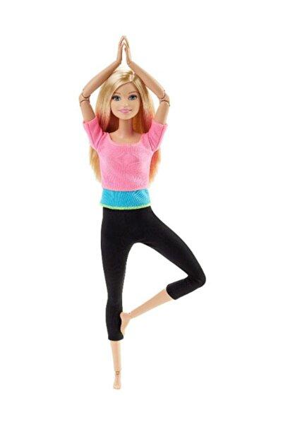 Barbie Sonsuz Hareket Bebeği, Siyah Saçlı - Siyah