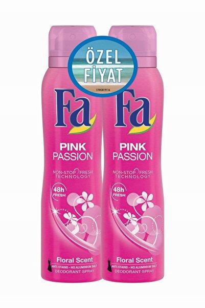 Fa Deodorant Sprey 2'Li Pink Passion 150 ml   + 150 ml