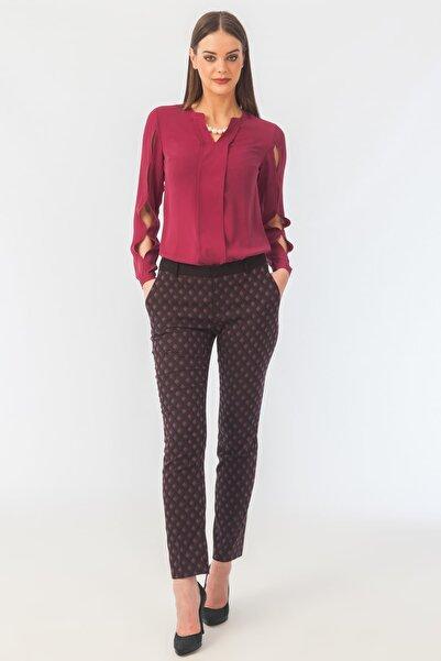 Naramaxx Kadın Mor Pantolon 16K11113Y309