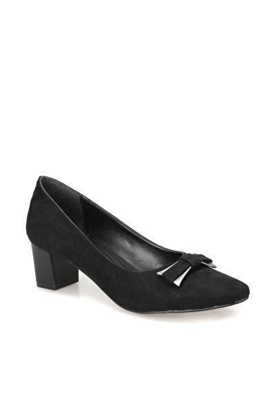 Miss F DW18033 Siyah Kadın Topuklu Ayakkabı 100340763