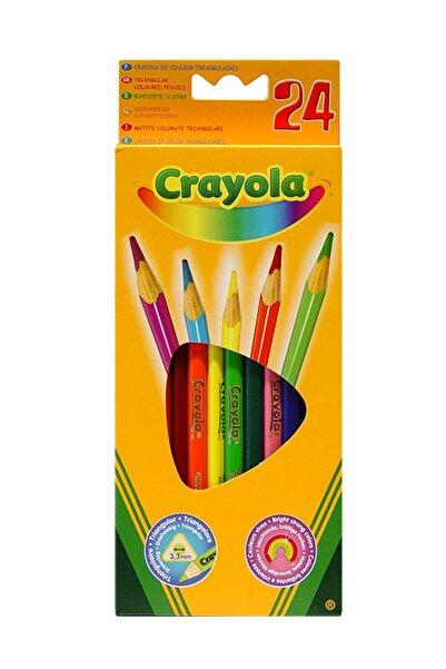 Crayola 24 Renk Kuruboya Kalemi /