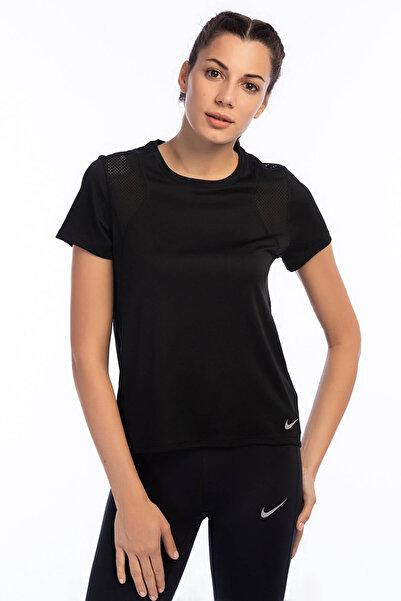 Nike Kadın T-shirt - W Nk Run Top Ss - 890353-010