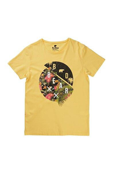 Bad Bear Sarı Erkek Tişört SHADOW ISLAND TEE LEMON