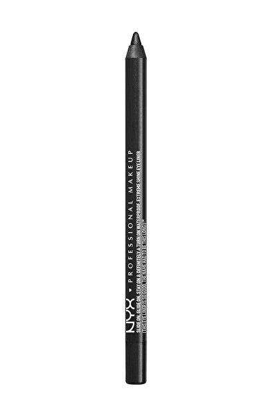NYX Professional Makeup Siyah Göz Kalemi - Slide on Eye Pencil Black Sparkle 6 g 800897141172