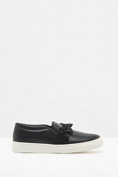 Koton Kadın Siyah Ayakkabı 7KAL21111AA