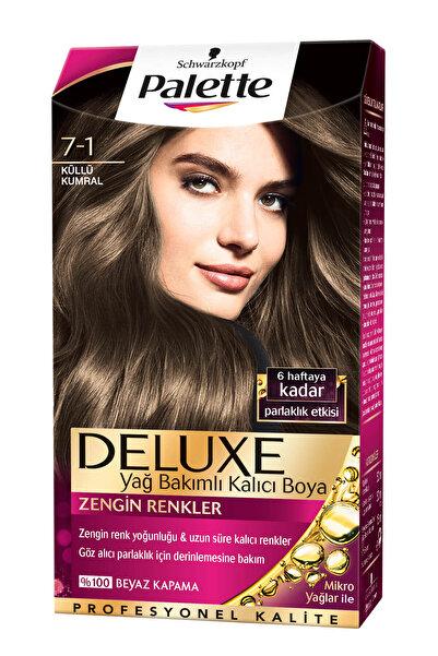 Palette Saç Boyası - Deluxe 7-1 Küllü Kumral 50 ml