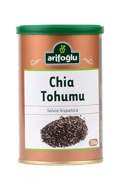 Arifoğlu Chia Tohumu (Teneke Kutu) 200 gr