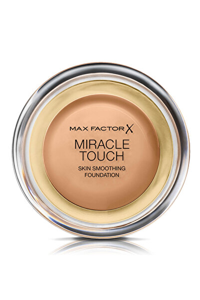 Max Factor Kompakt Fondöten - Miracle Touch Foundation 080 Bronze 5011321338586