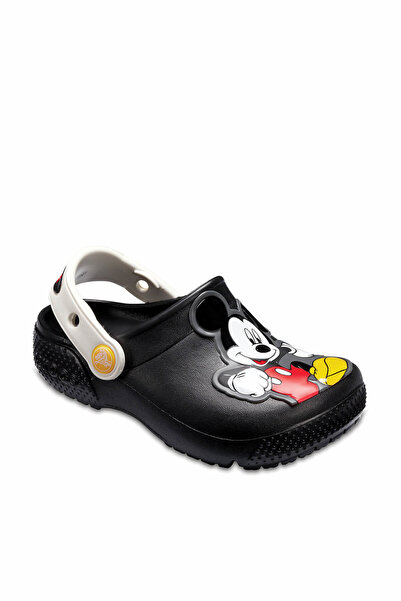 Crocs Kids Siyah Mickey Unisex Çocuk Sandalet 205113-001