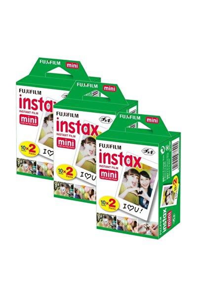 Fujifilm Instax Mini 20'li Film 3'lü Set 60 Poz