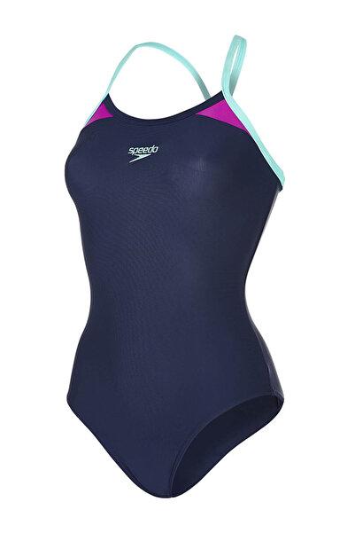 SPEEDO Kadın Lacivert Endurance 10 Yüzücü Mayosu