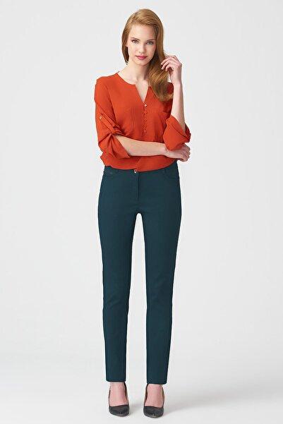 Naramaxx Kadın Koyu Yeşil Pantolon 17K11113Y369