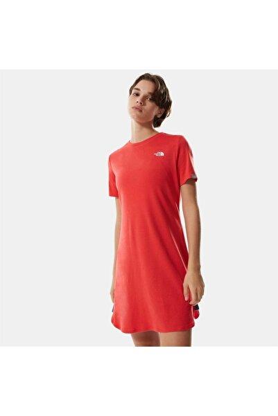 THE NORTH FACE Kadın W Sımple Dome Tee Dress - Eu Elbise