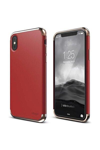 Elago iPhone X Elago Empire Kırmızı Kılıf