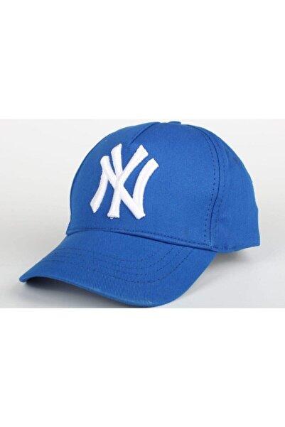 efsunkar Siyah Mavi Baba Oğul Kombin Şapka 2'li