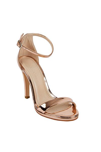 Oleg Cassini Kadın Bronz Rengi Yüksek Topuklu Abiye Ayakkabı LILA