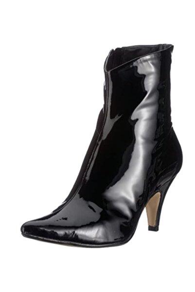 CLARKS Kadın  Kaffıa Leaf Parlak Siyah Topuklu Ayakkabı