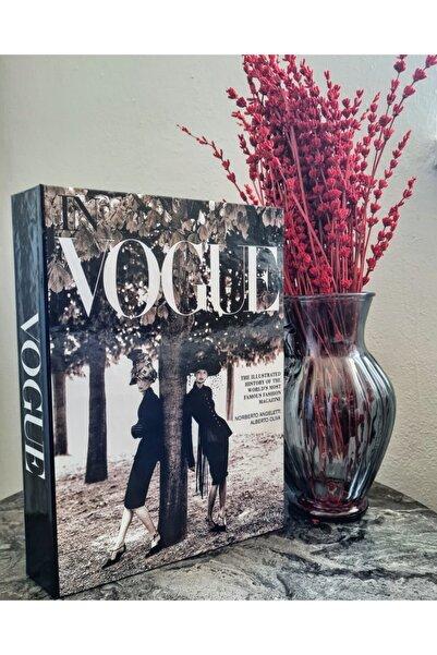 Katre Trade Vogue Mukavva Kutu Dekoratif Kitap Kutusu