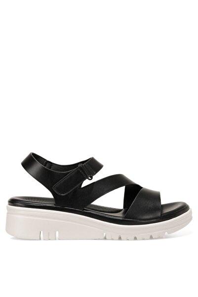 İnci CADALILLA 1FX Siyah Kadın Kalın Tabanlı Sandalet 101027699