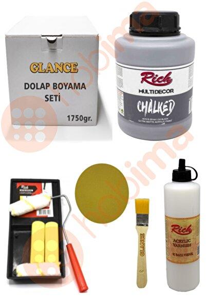 Rich Dolap Boyama Seti Chalked 1750 gr Is Siyah